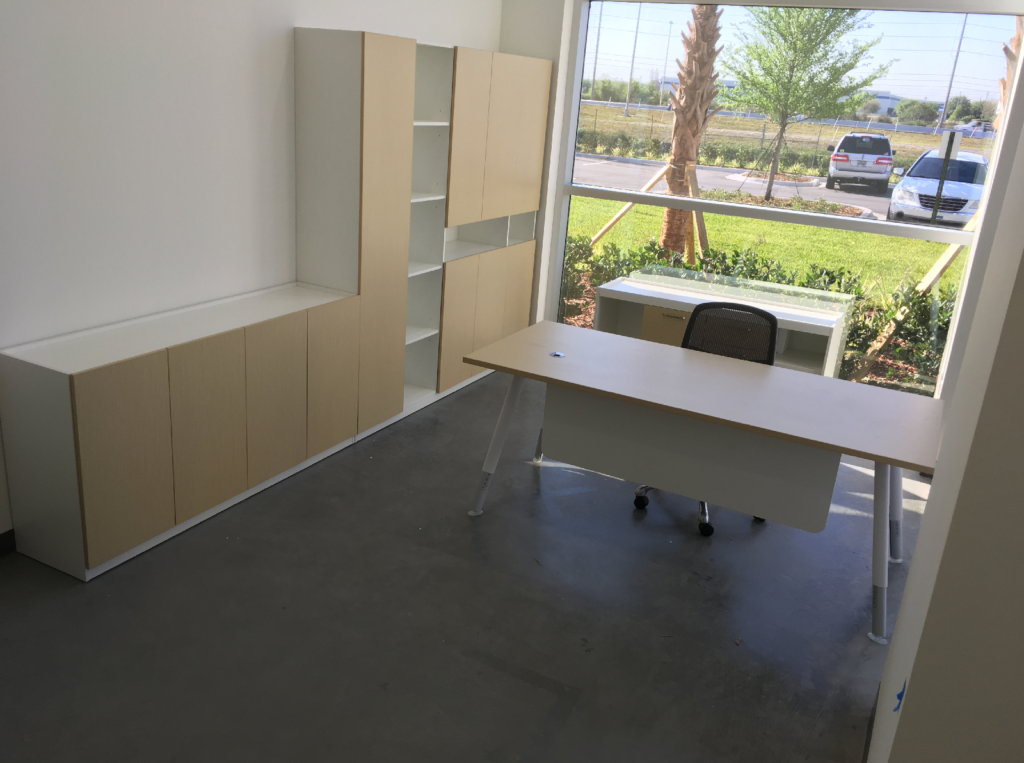 Furniture Installation Orlando STA Elements private office