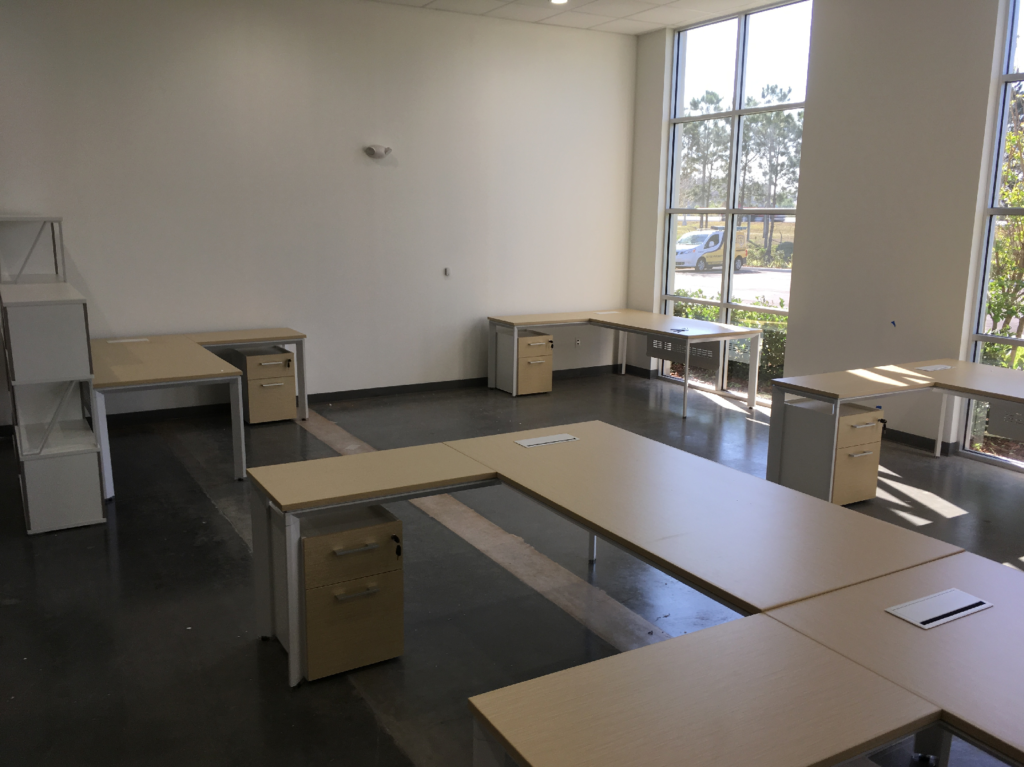 Furniture Installation Orlando STA Elements shared office 4