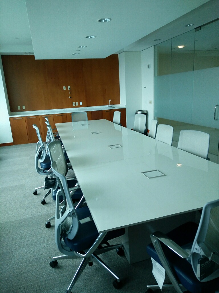 conference table furniture installation